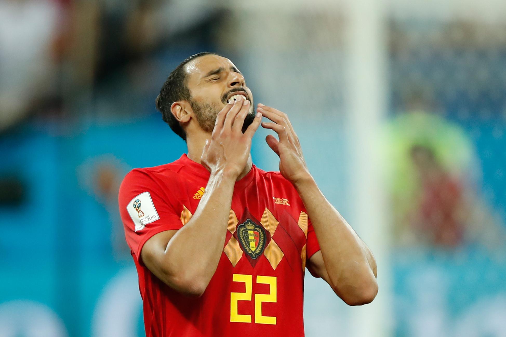 Nacer Chadli scored an injury-time winner as Belgium beat Japan 3-2 ©Getty Images