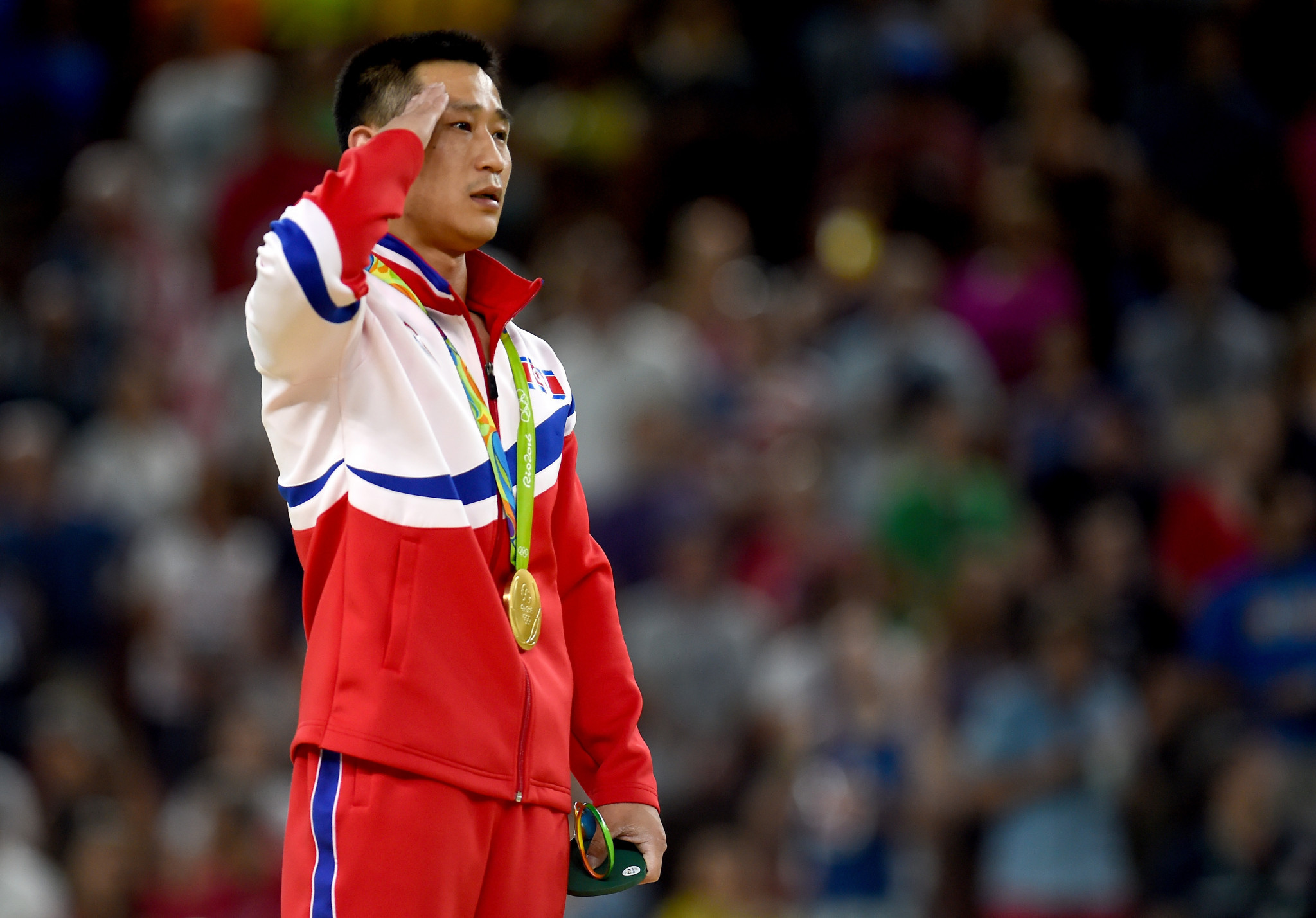 Ri Se-gwang is one of two North Korean gymnasts to have won an Olympic gold medal ©Getty Images