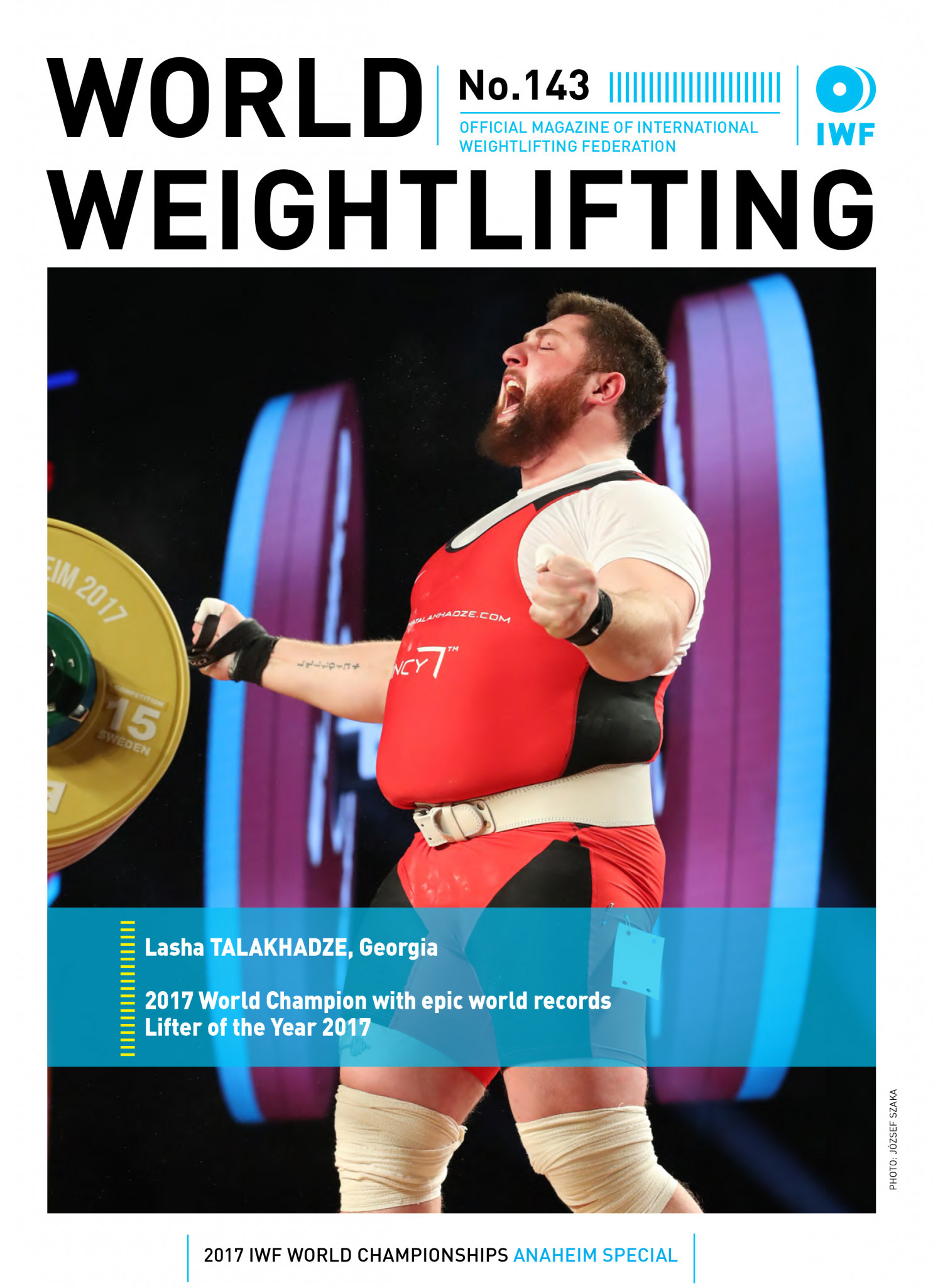 World Weightlifting Magazine No. 143