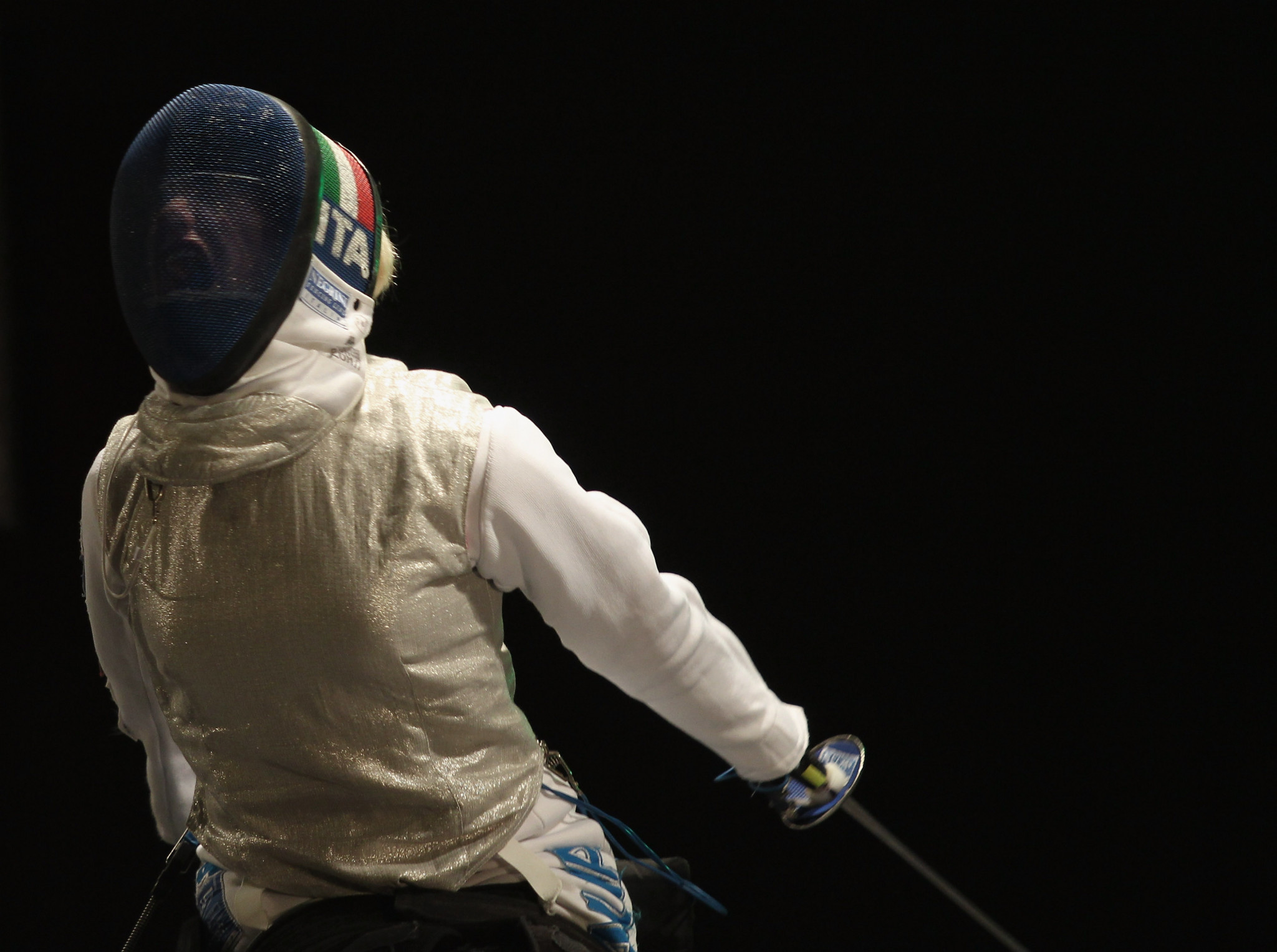 Vio among Paralympic champions competing at Wheelchair Fencing World Cup