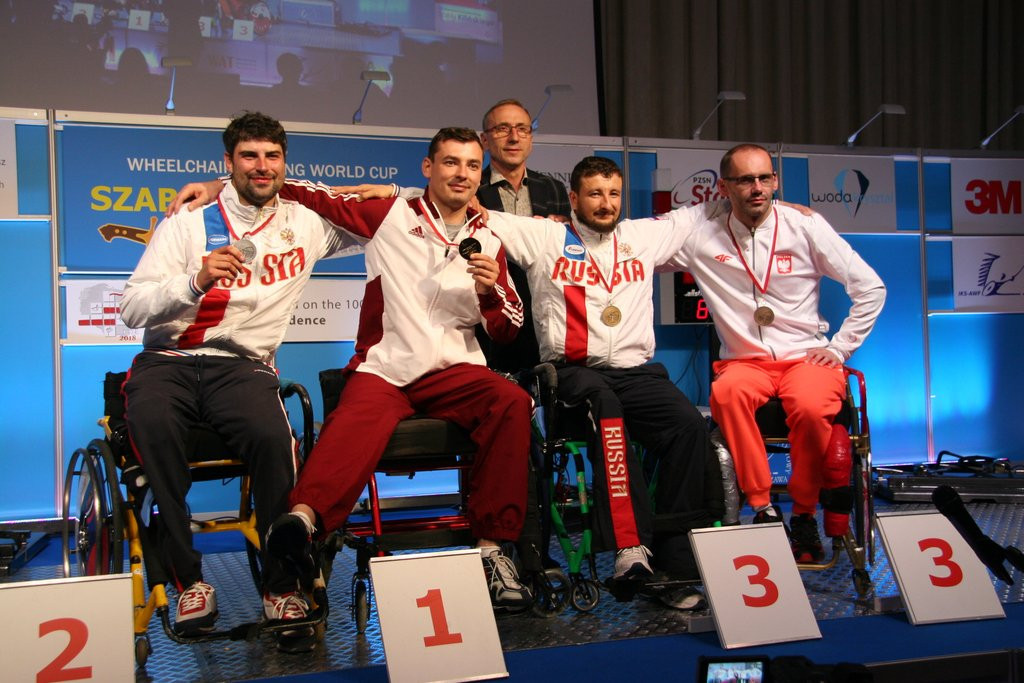 Hungary's Osváth among winners on opening day of IWAS Wheelchair Fencing World Cup in Warsaw
