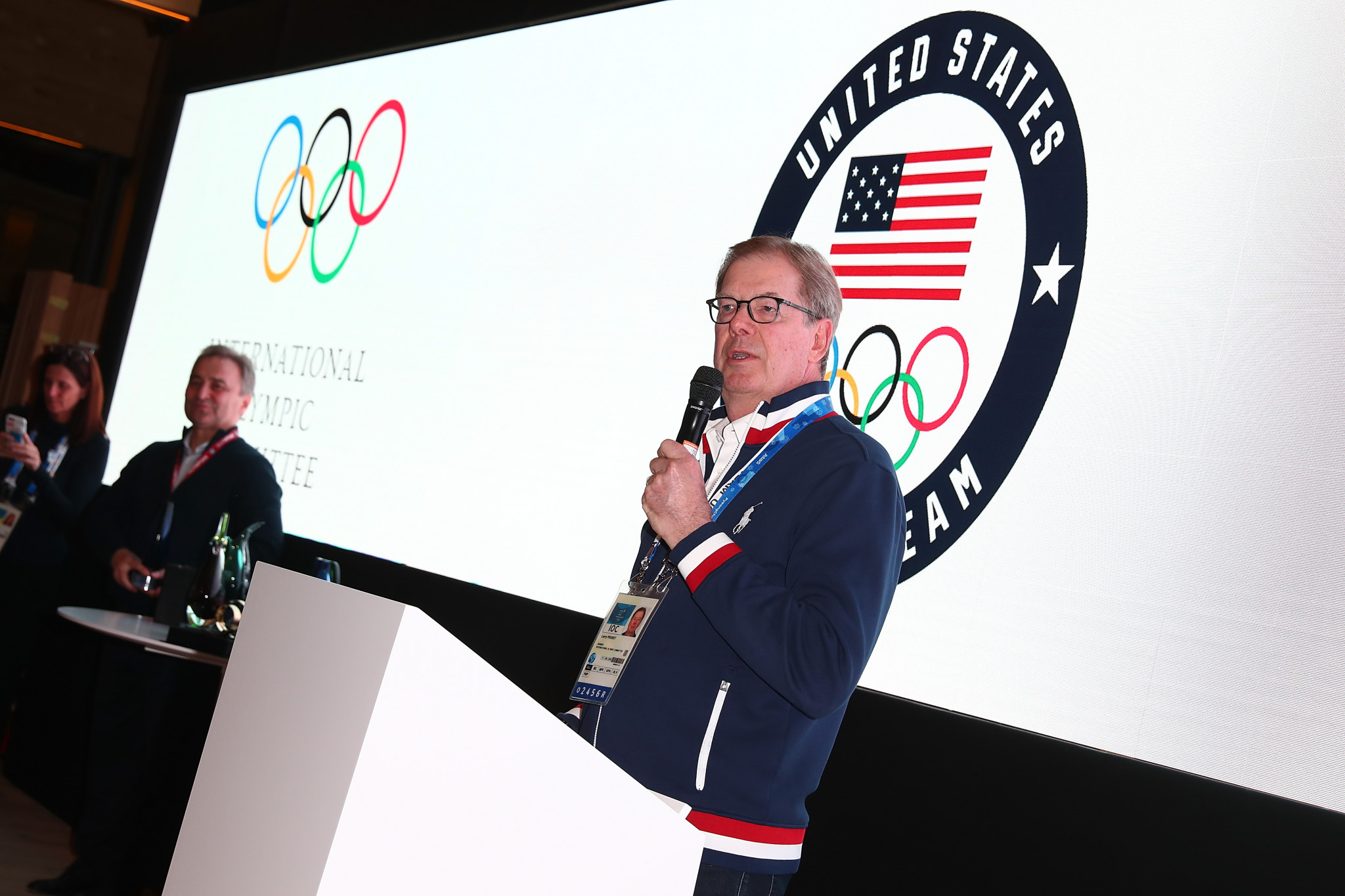 USOC chair Larry Probst said Sarah Hirshland's appointment comes at a critical time for the organisation ©Getty Images