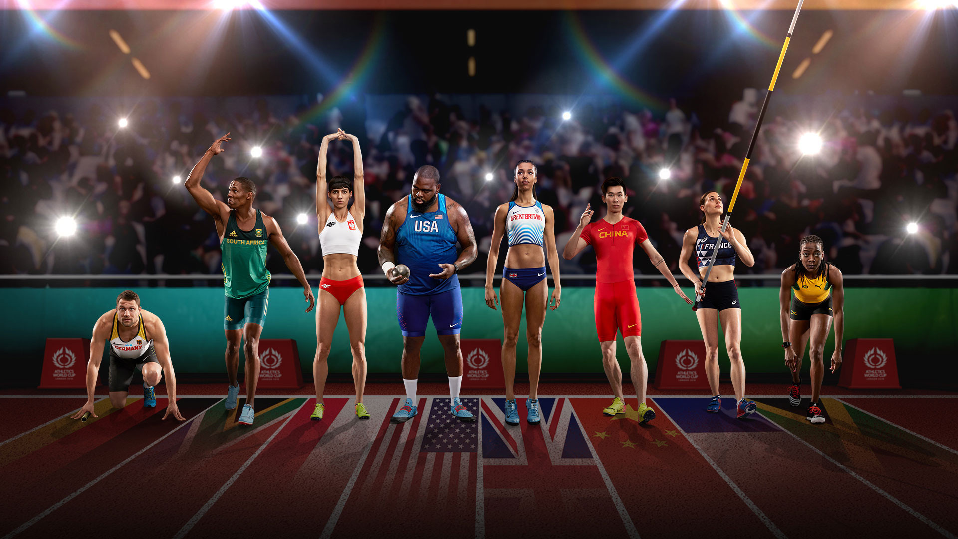 The Athletics World Cup will take place in London this weekend ©Athletics World Cup