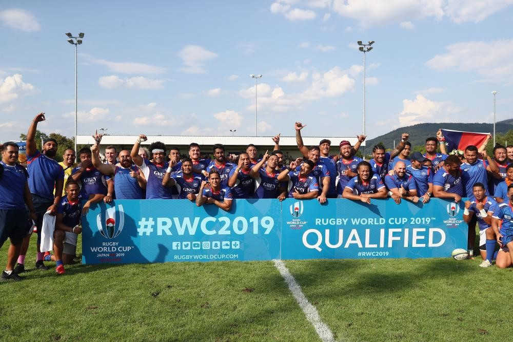 Samoa qualified for the World Cup in Japan ©World Rugby