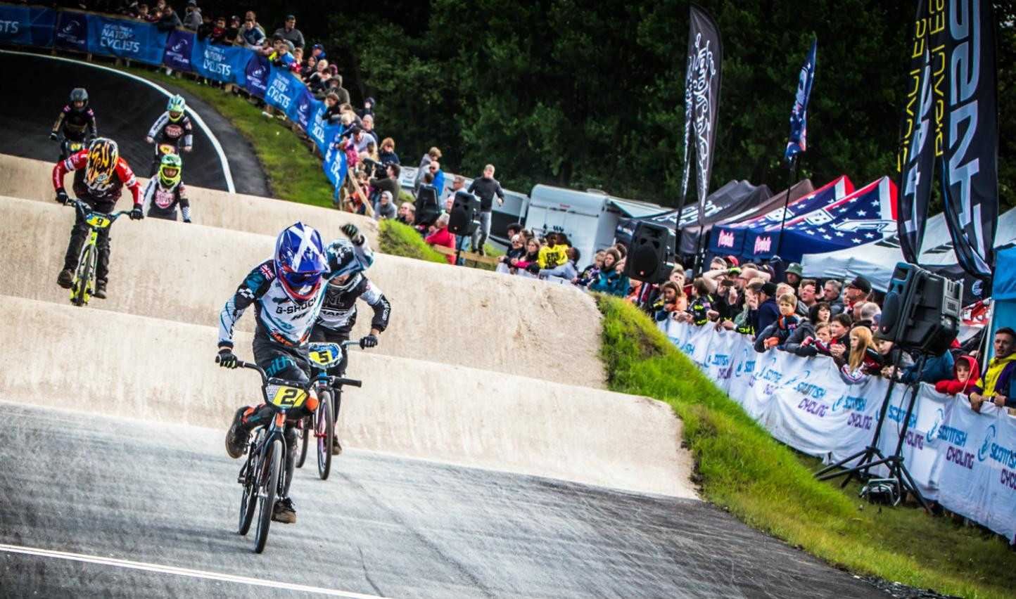 Riders hoping to take part in the European BMX Championships in Glasgow have praised the track set to be used ©Paul Makepeace