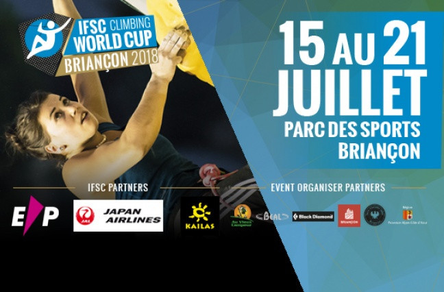 The first IFSC Paraclimbing Cup of 2018 takes place tomorrow in Briancon in France ©IFSC