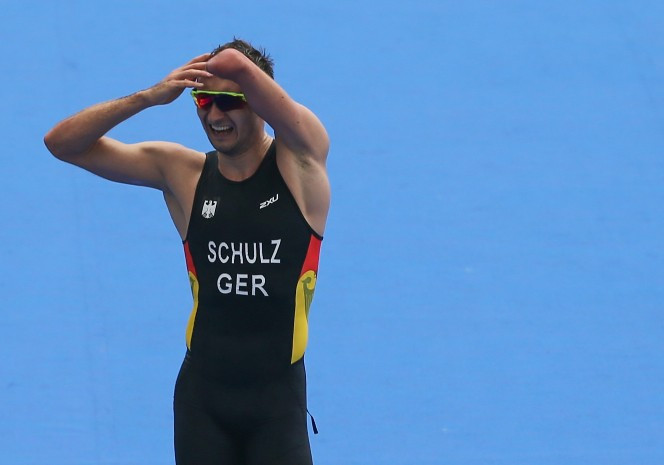Rio 2016 champion Martin Schulz was among the winners as Para-triathlon action begun the European Triathlon Championships in Tartu today ©Getty Images