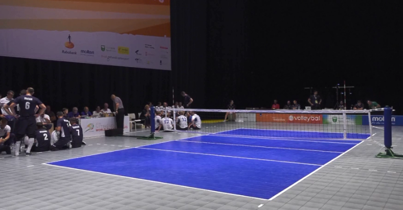 Quarter final action took place in two Dutch cities ©World Para Volley/Facebook