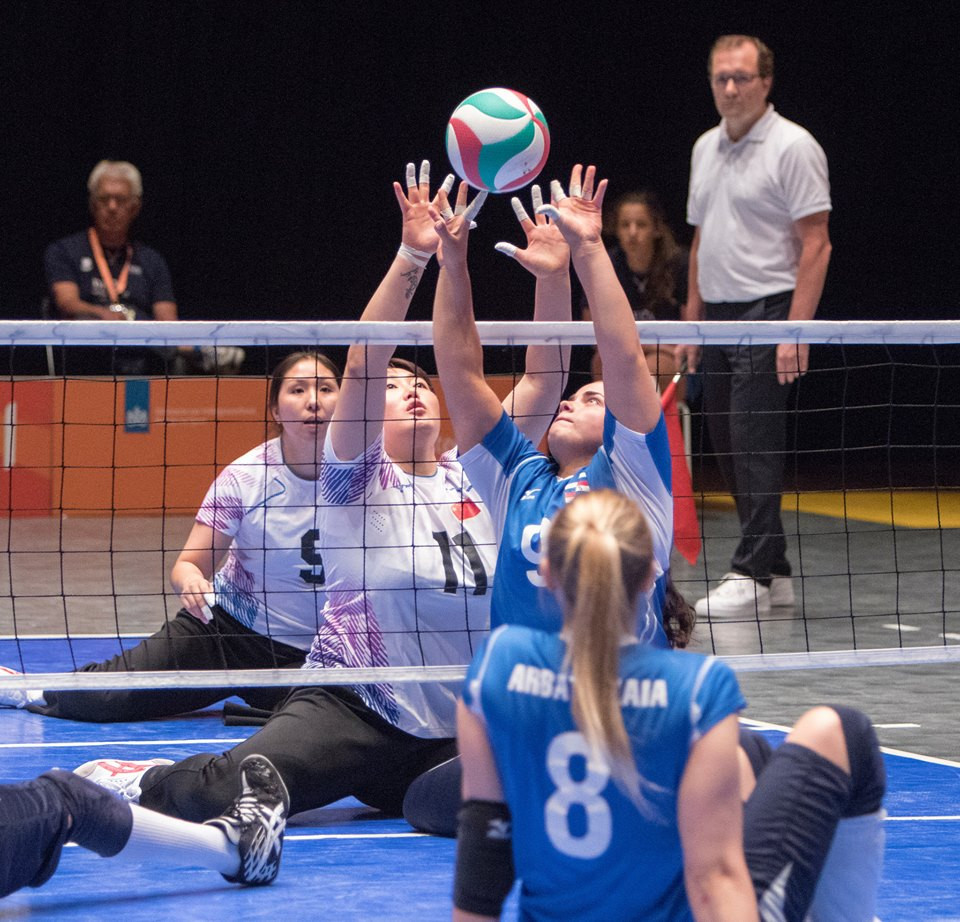 Defending women's champions China were beaten in the semi-finals as the World Sitting Volleyball Championships continued in The Netherlands ©World ParaVolley