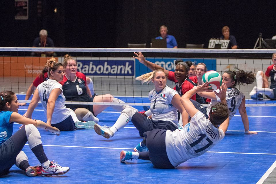 Paralympic champions United States knocked out Italy ©World ParaVolley