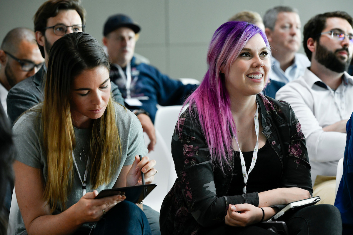 Sarah Walker, left, said today that esports in its current form is not suitable for the Olympics ©IOC