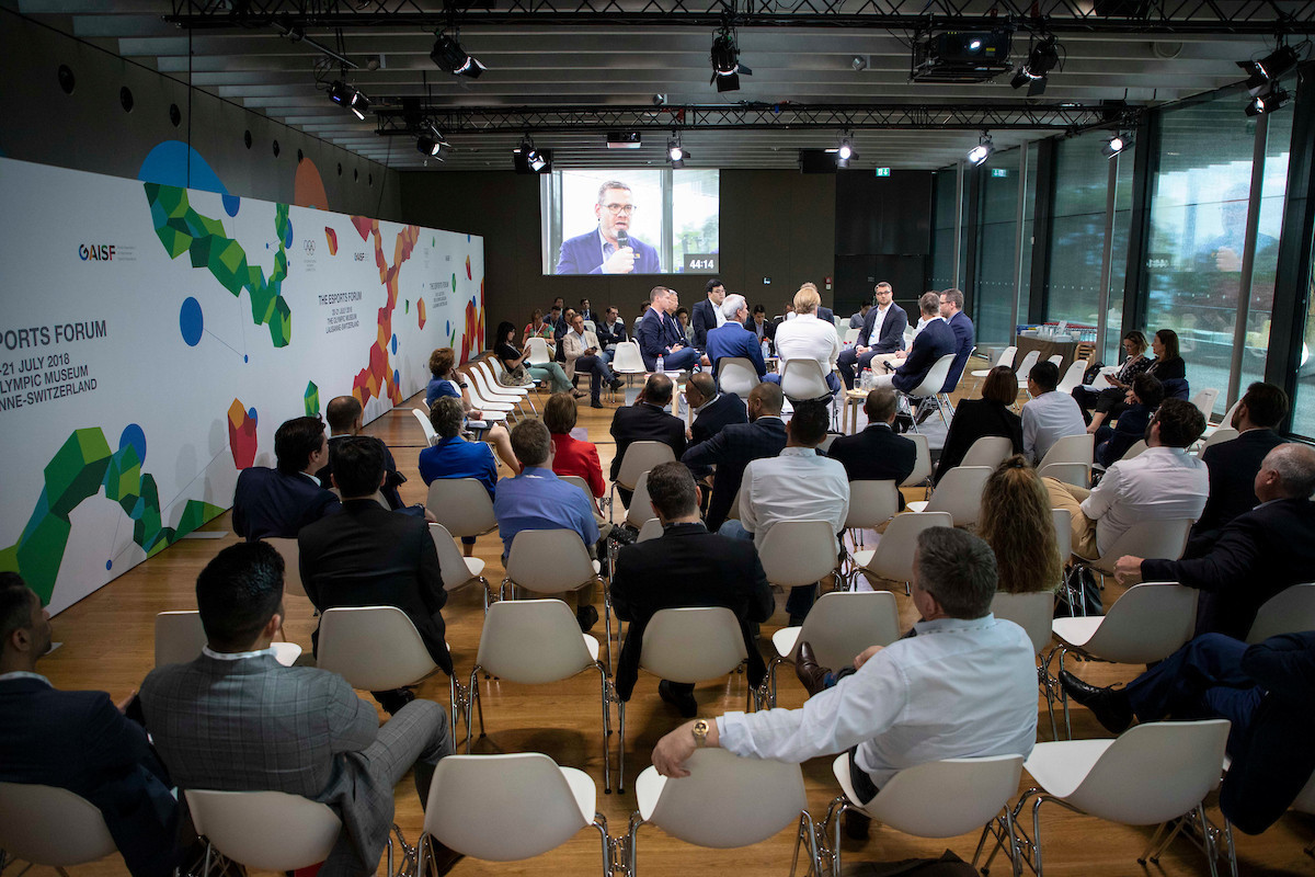 Various panel discussions took place at the Olympic Museum in Lausane at the forum organised by the IOC to improve