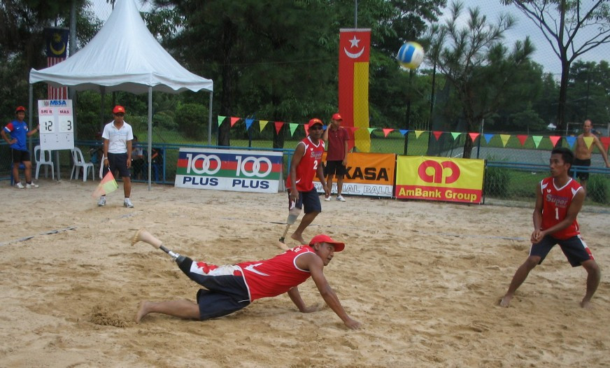IPC President discusses inclusion of standing beach ParaVolley at Los Angeles 2028