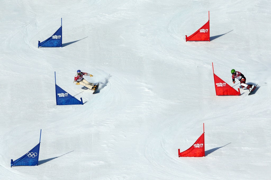 Parallel snowboard racing has been removed from the Winter Olympic schedule