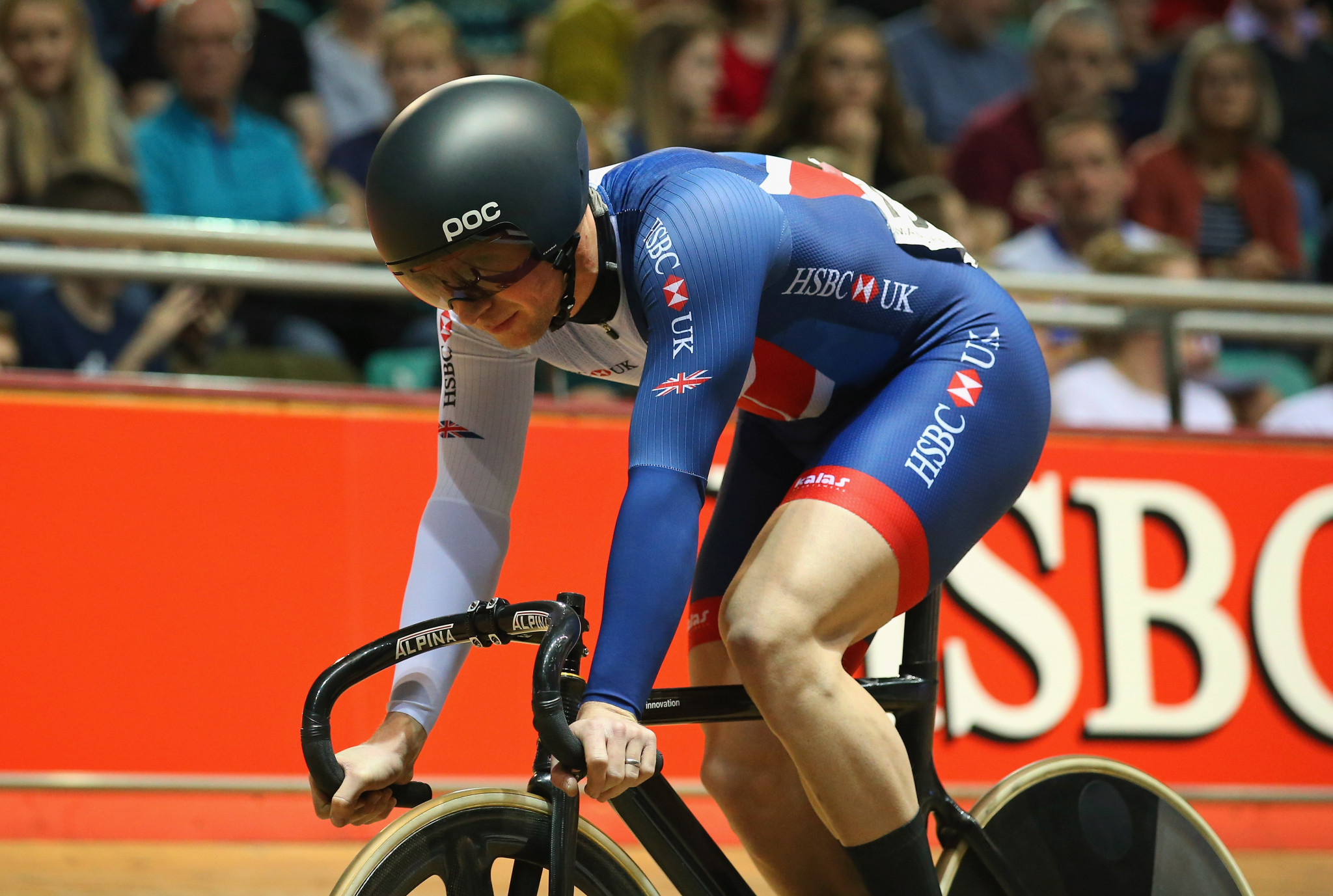 Jason Kenny has been included in Britain's track cycling team for the European Championships in Glasgow ©Getty Images