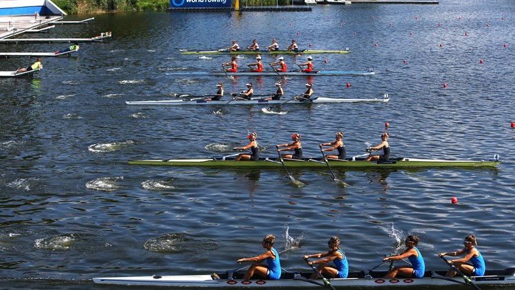 Australia's Patten and Cox impressively into women's pair final at World Rowing Under-23 Championships in Poznan