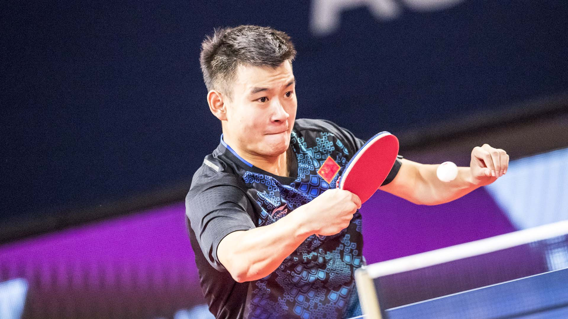 World number 140 Liu Dingshuo qualified for the men's singles final ©ITTF/APAC Sport Media