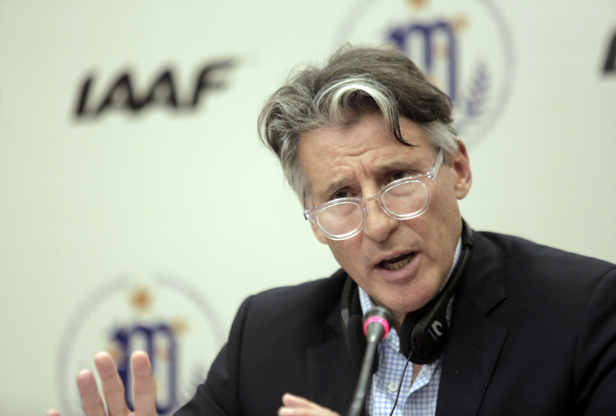 IAAF President Sebastian Coe announced that RusAF would remain banned during a press conference on Friday. The Council's decision was reportedly unanimous ©Getty Images