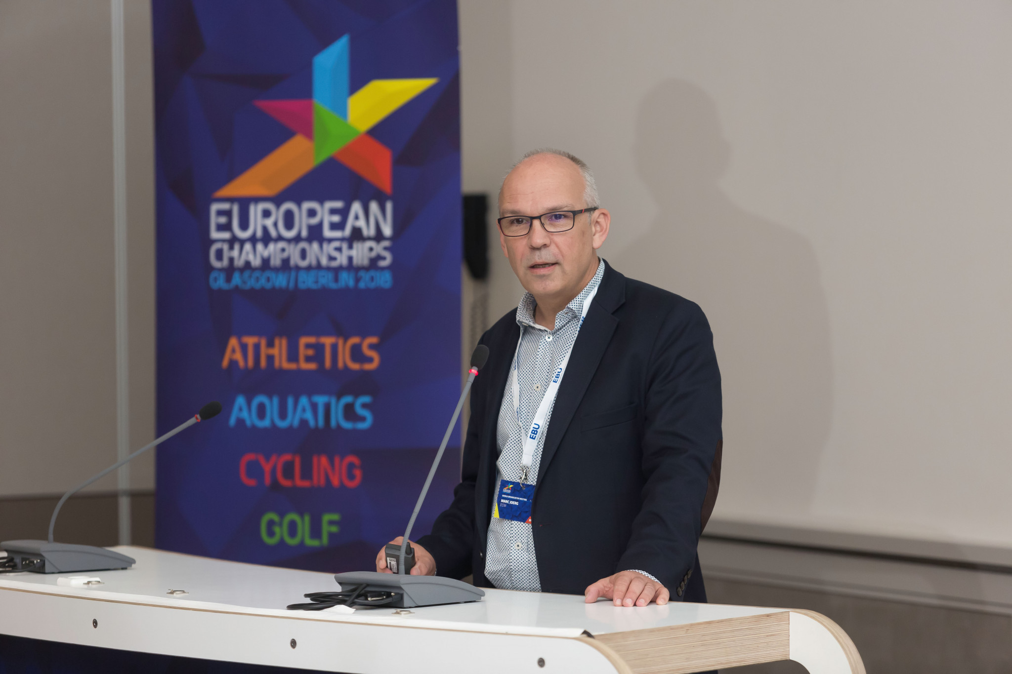 Marc Jörg, co-developer of the new multi-sport European Championships format, has had extensive marketing experience within UEFA and the EBU ©European Championships