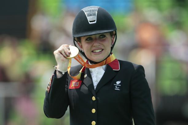 Five-time Paralympic champion Natasha Baker is one of four riders named on Great Britain's Para-team for the World Equestrian Games ©Getty Images