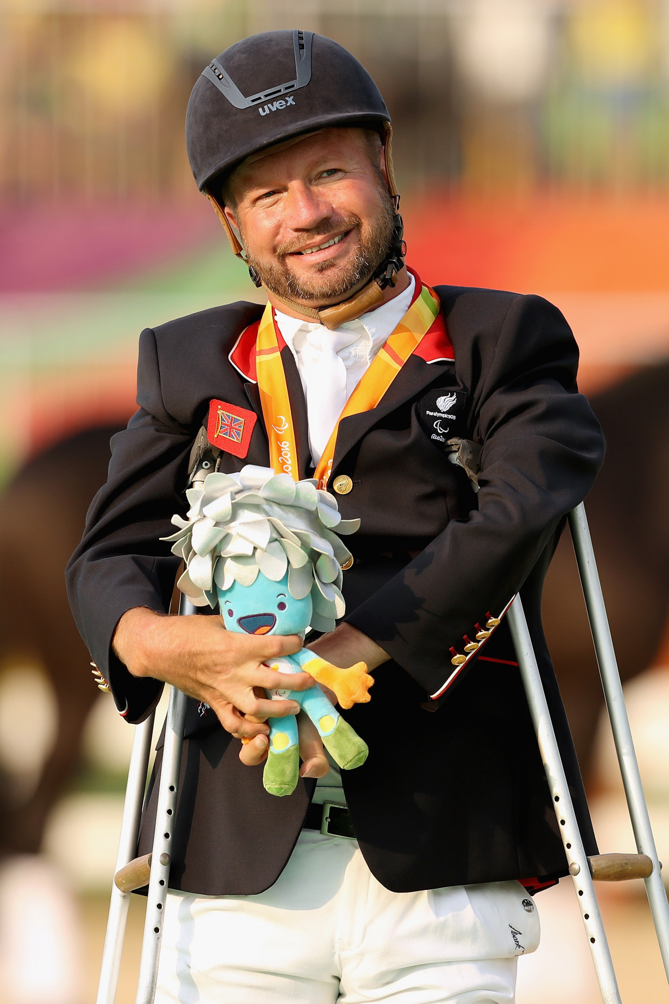 Sir Lee Peason, who has won 11 Paralympic golds in his career, is also on the team ©Getty Images