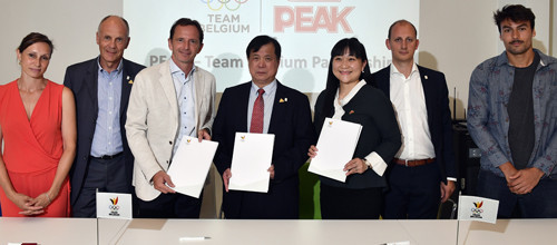Belgian Olympic Committee partners with Chinese sportswear manufacturer Peak