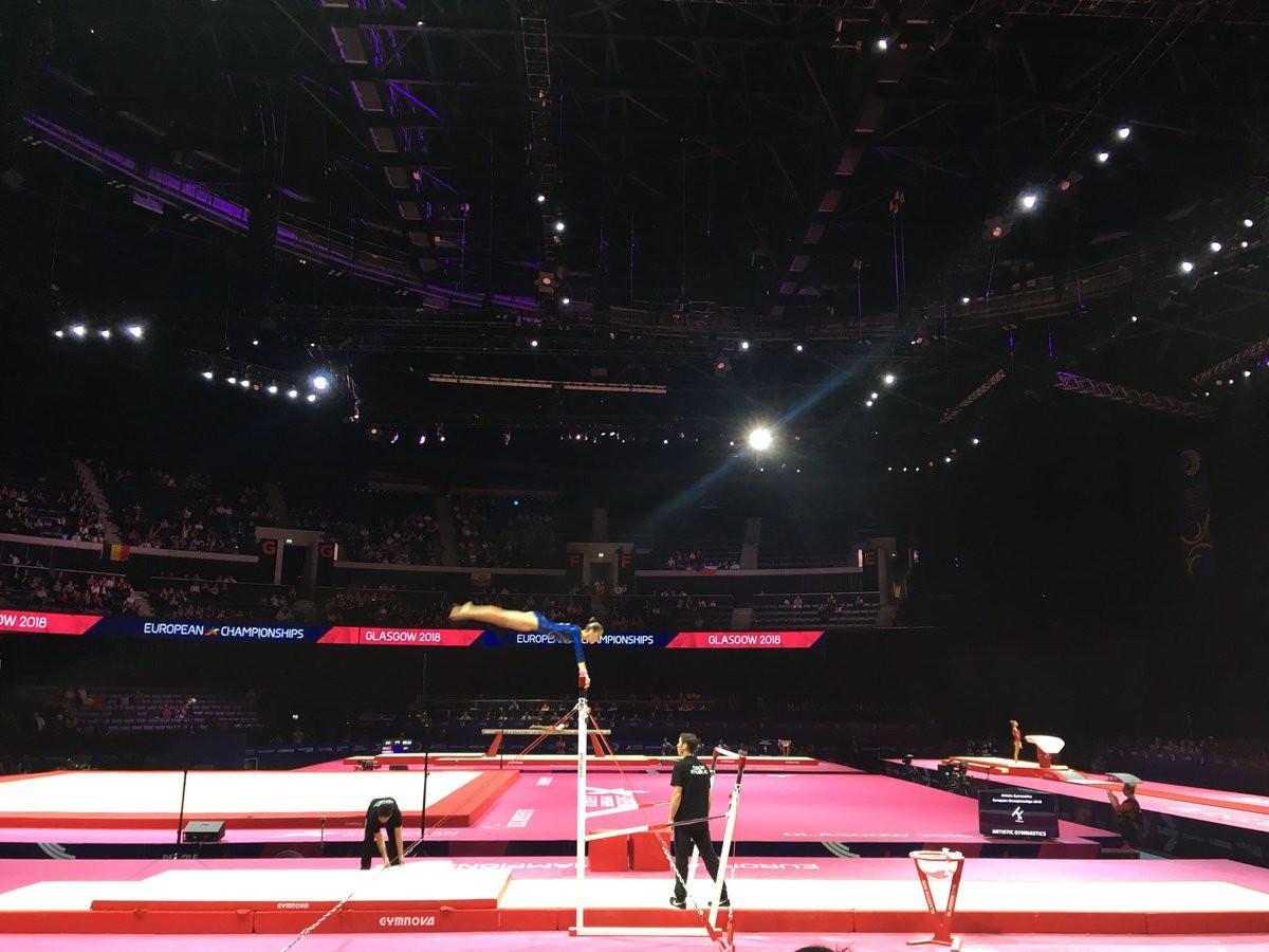 Villa the star as Italy claim artistic gymnastics junior team title at Glasgow 2018 European Championships