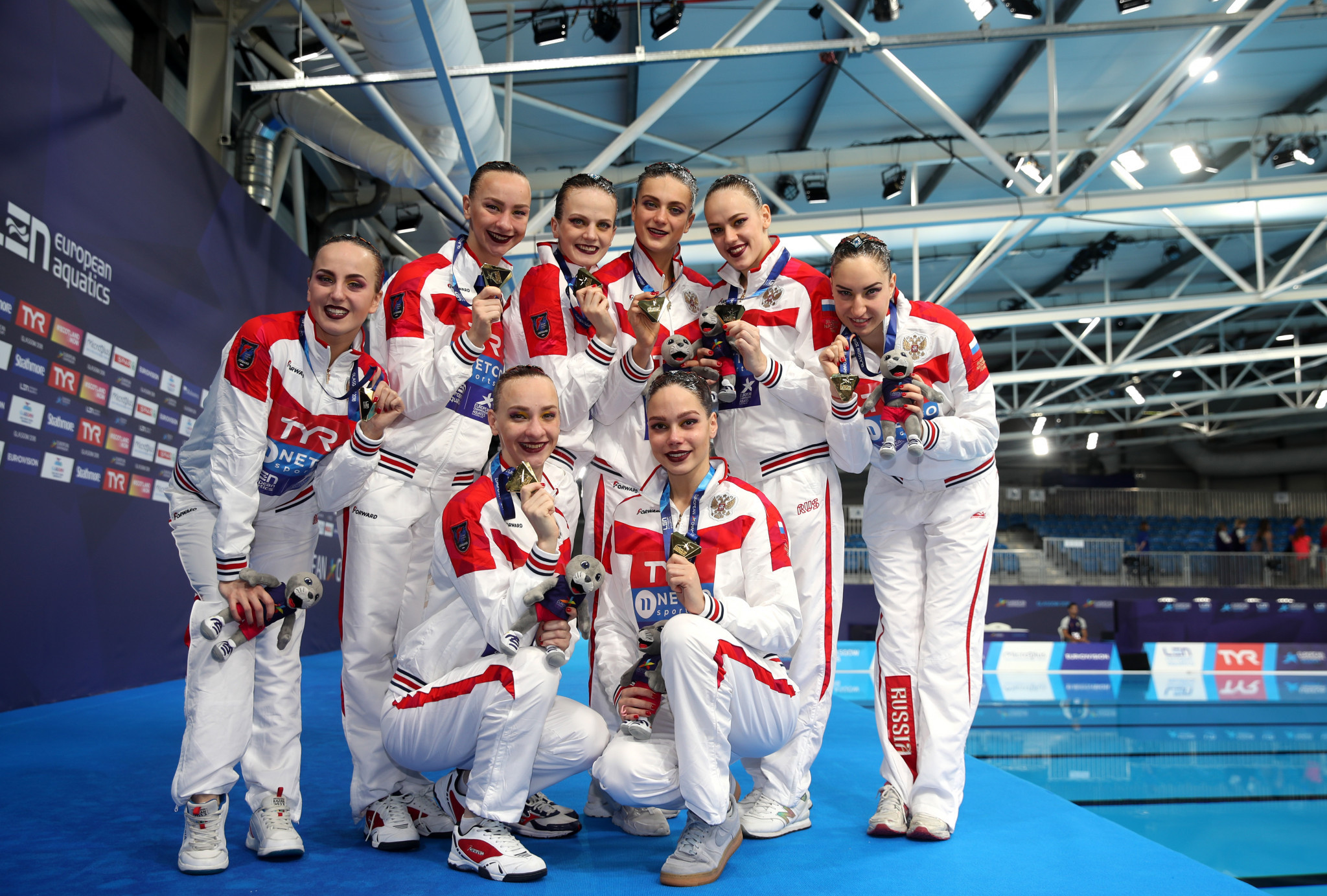 Russia continue domination of artistic swimming events at Glasgow 2018 European Championships