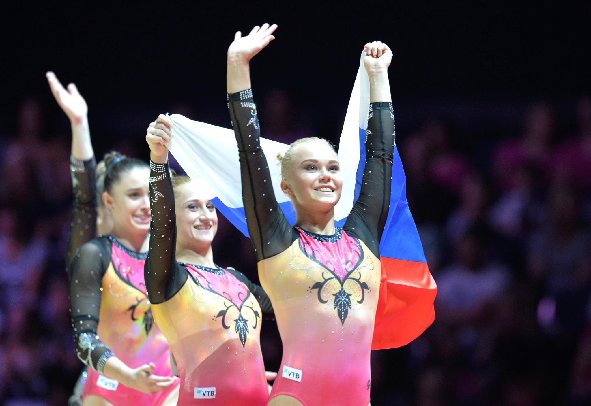 Russia retain women's artistic gymnastics team title at Glasgow 2018 European Championships