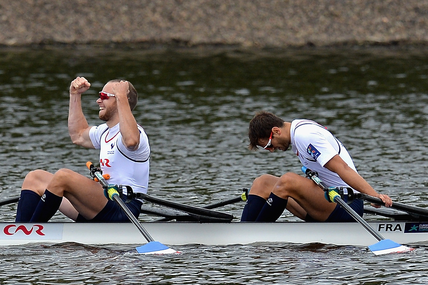 French double sculls crew earn dramatic victory as rowing finals conclude at European Championships