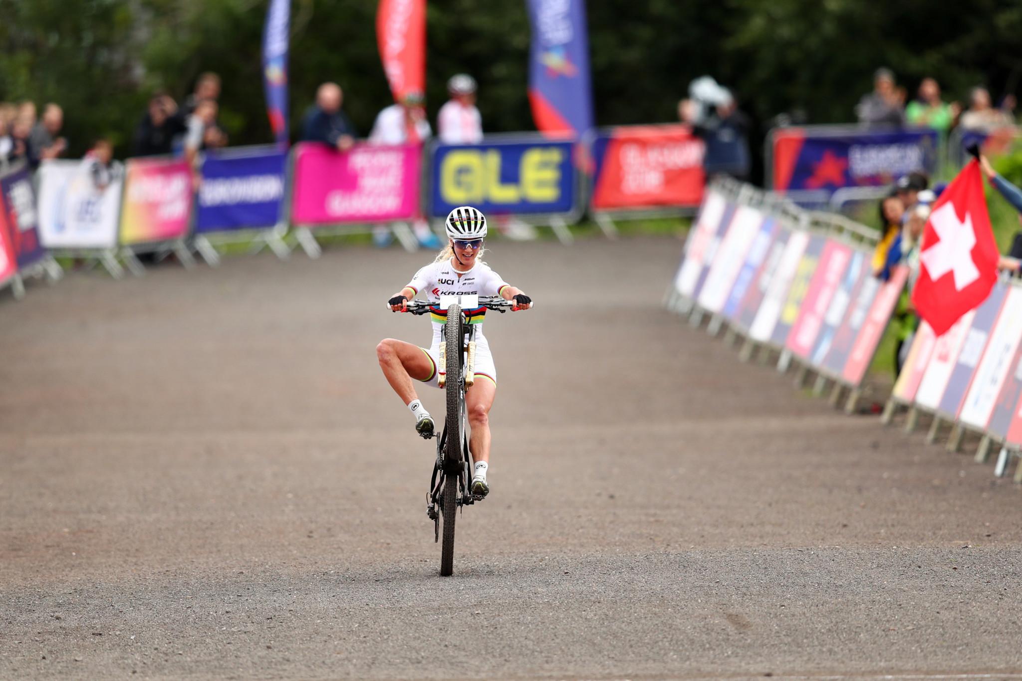 World champion Neff clinches third European Championships mountain bike crown