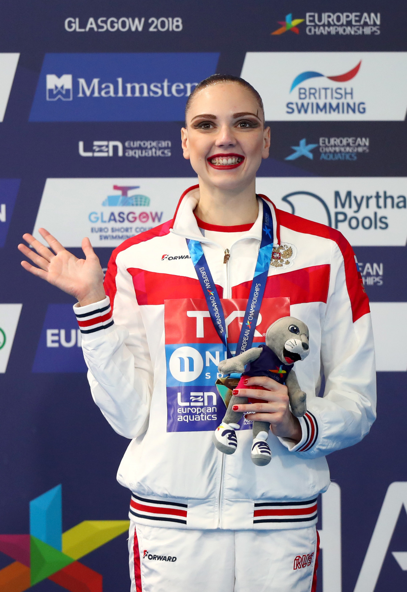 Russia claim final two golds in artistic swimming at European Championships