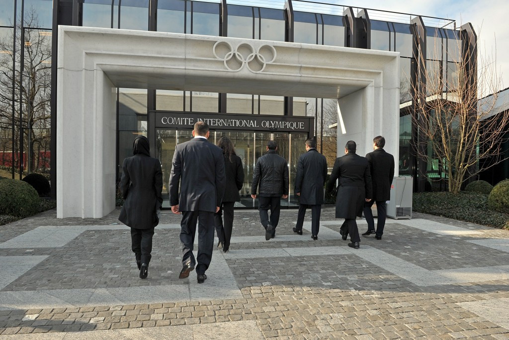 The IOC have been accused of putting pressure on the Belgian Theatre and its designer to drop the case ©Getty Images