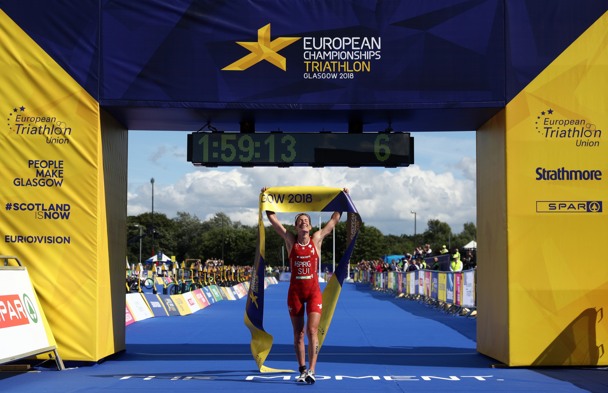 Spirig crowned women's European Championships triathlon champion for sixth time