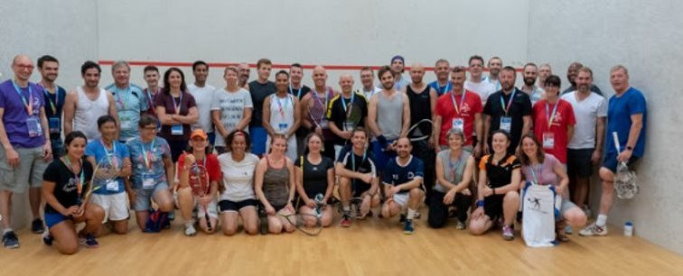 WSF has supported the inclusion of squash in the Gay Games, taking place in Paris ©WSF/Twitter