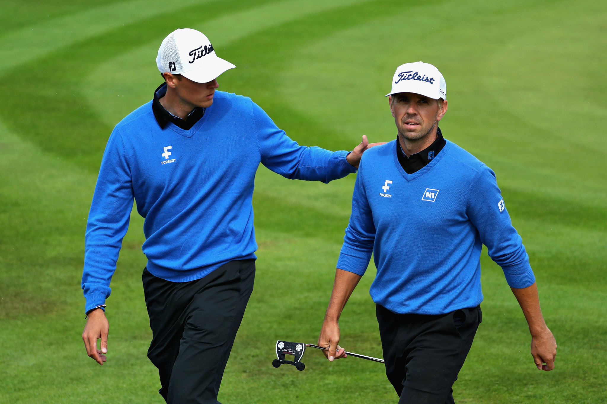 Icelandic duo book semi-final place at European Golf Team Championships