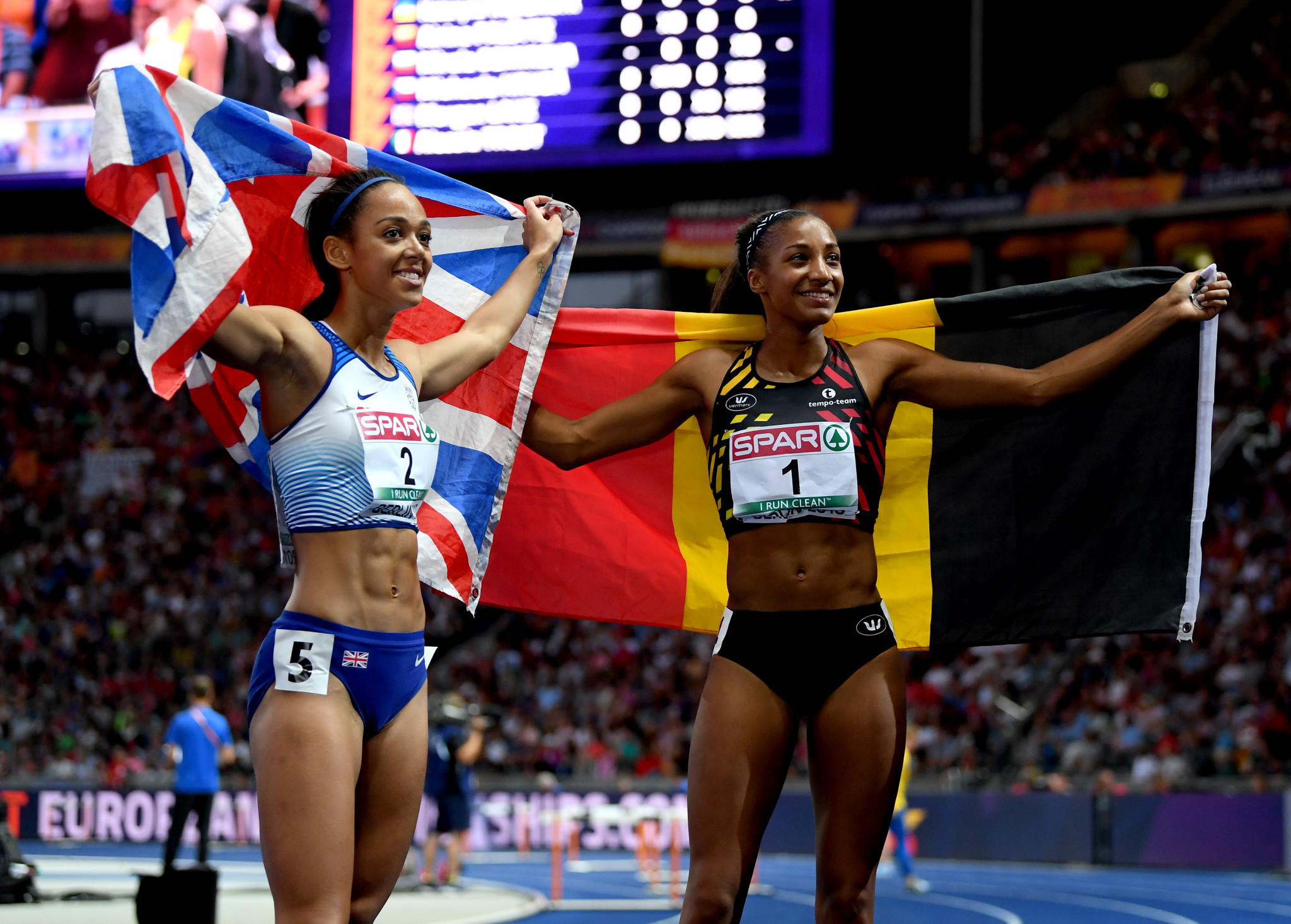 Berlin and Glasgow 2018 European Championships: Day nine of competition