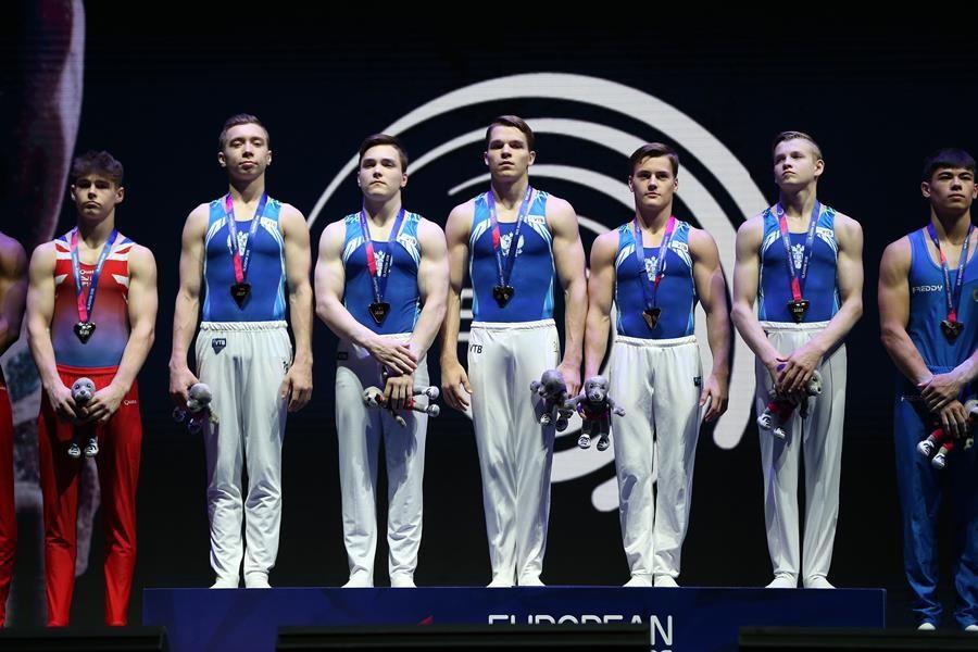 Heartbreak for Great Britain as Russia claim men's artistic gymnastics junior team title at Glasgow 2018