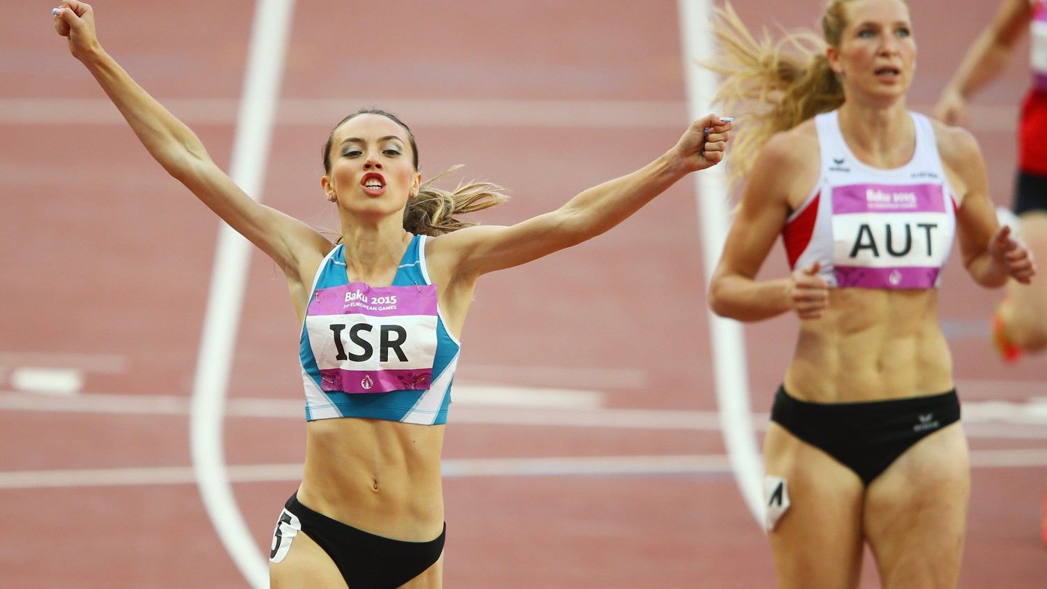 Athletics at the 2015 European Games in Baku was of a low standard featuring countries ranked in the third tier ©Getty Images