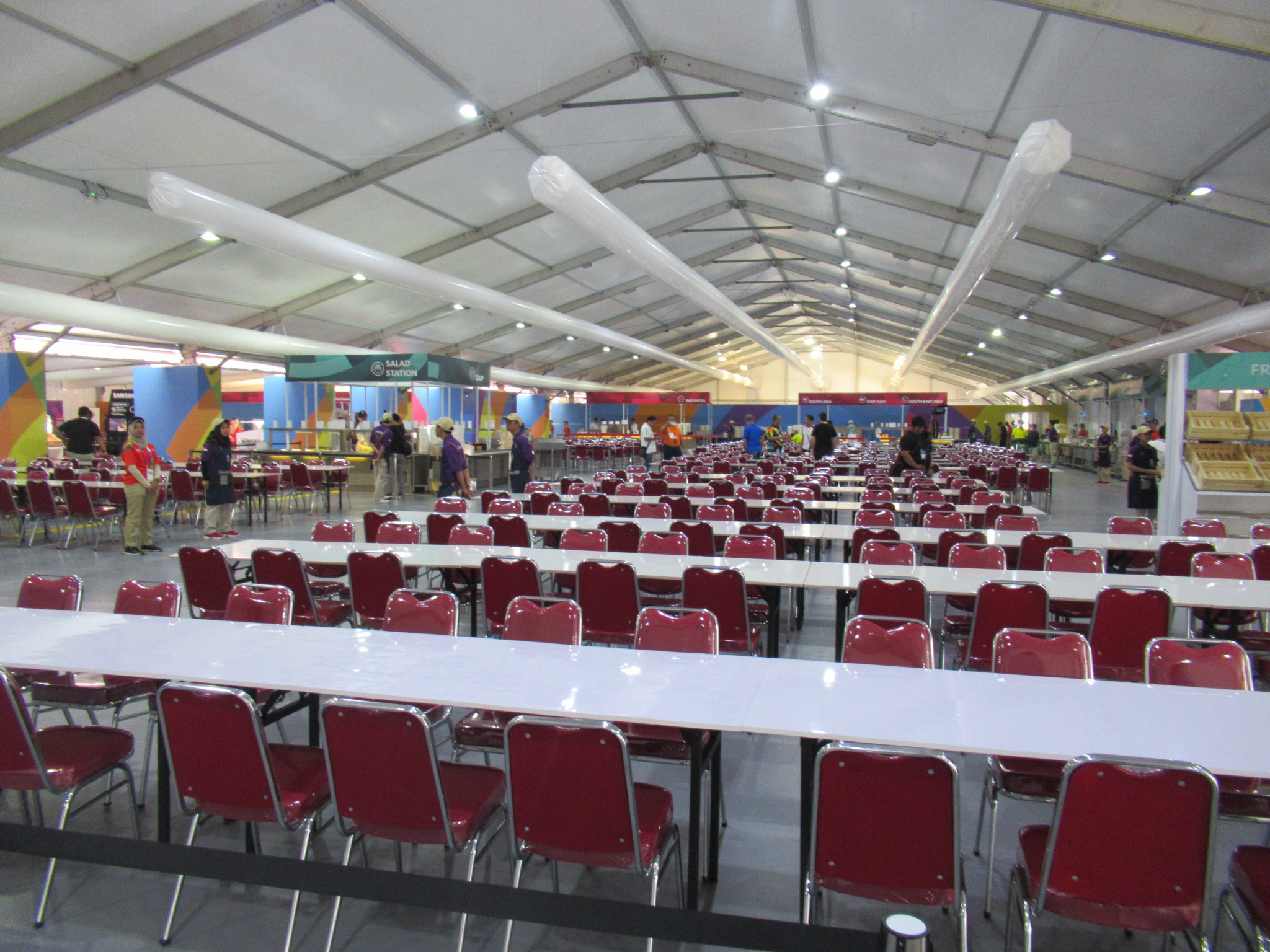 So far, 12 countries have checked into the Athletes' Village for Jakarta Palembang 2018 ©OCA