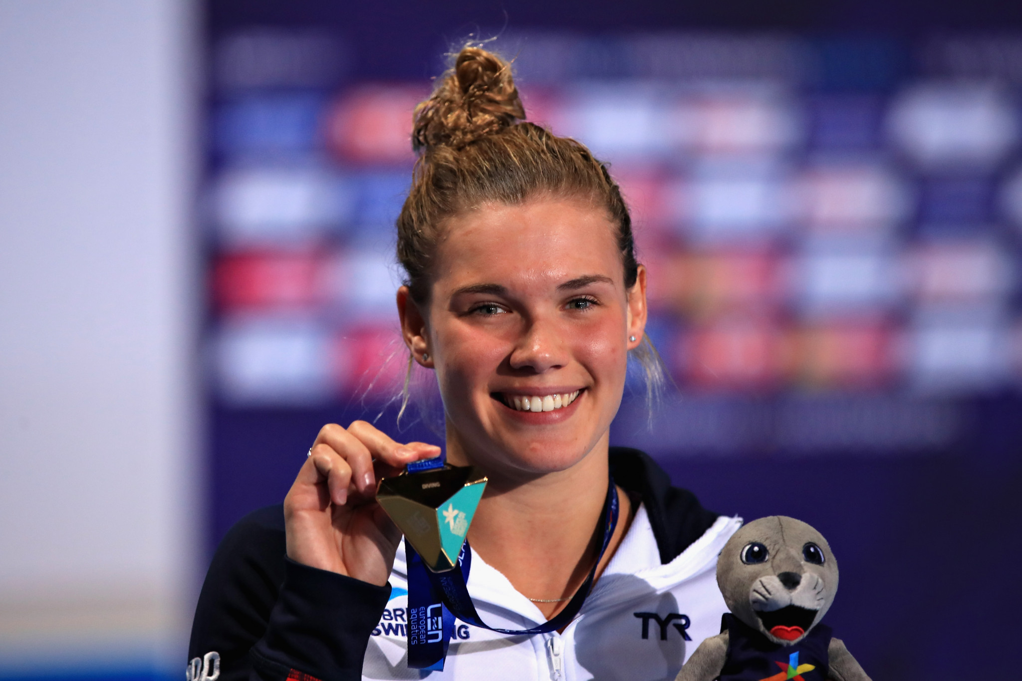 Reid produces superb final dive to win women's 3m springboard title at Glasgow 2018 European Championships
