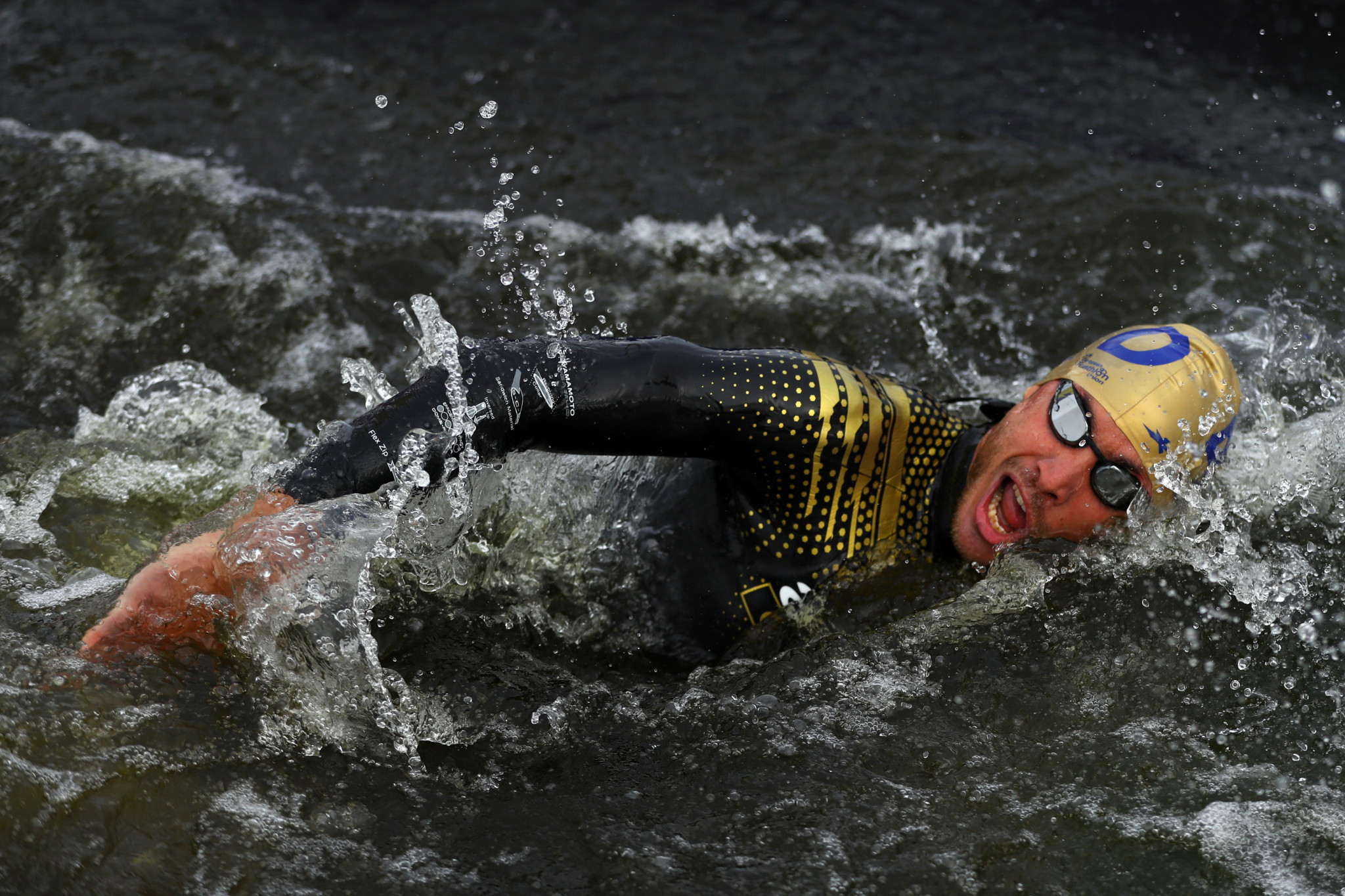 Dorian Coninx completed the last leg of the race for France ©Getty Images