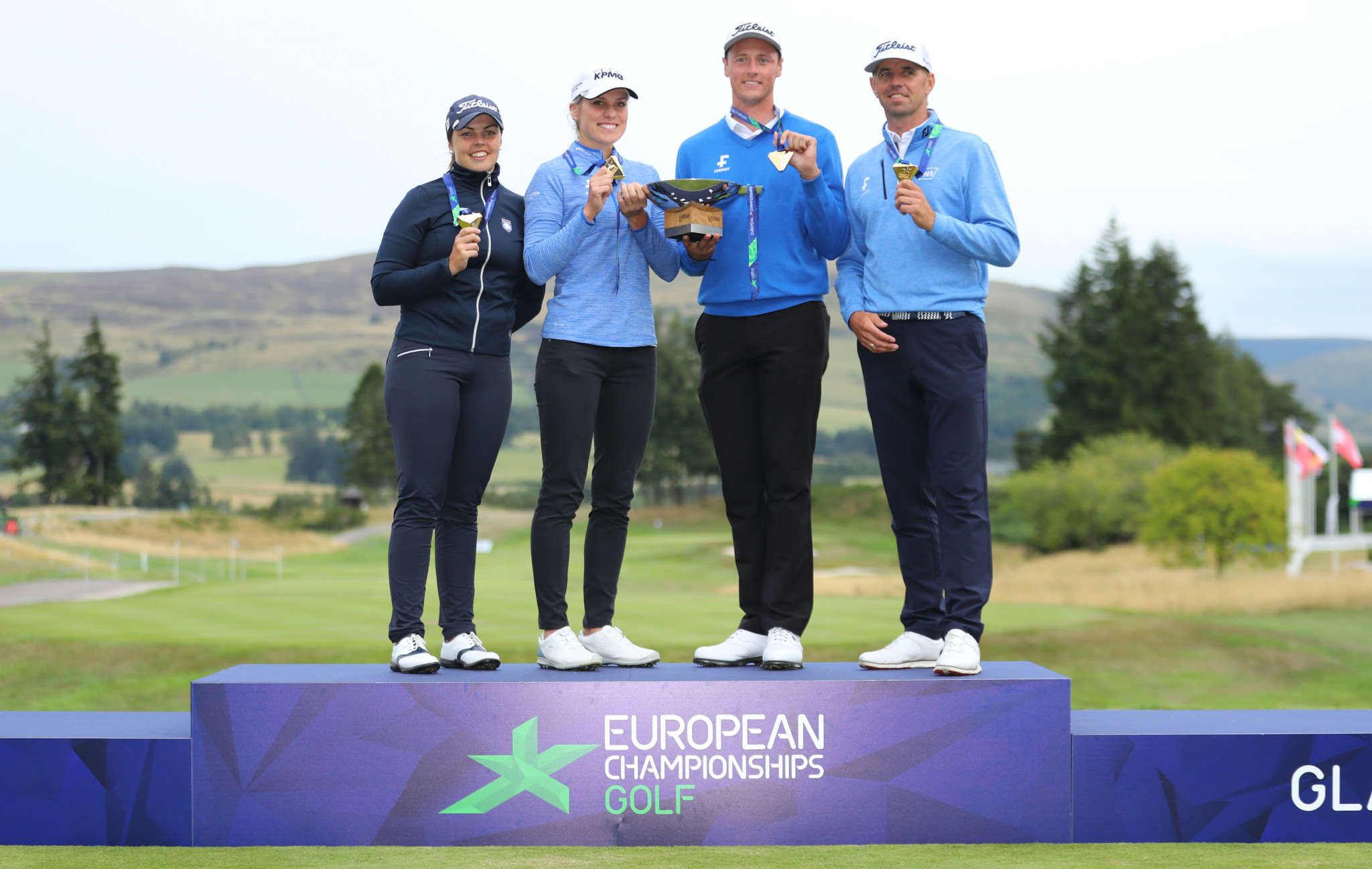 Iceland crowned inaugural mixed team golf winners at European Championships