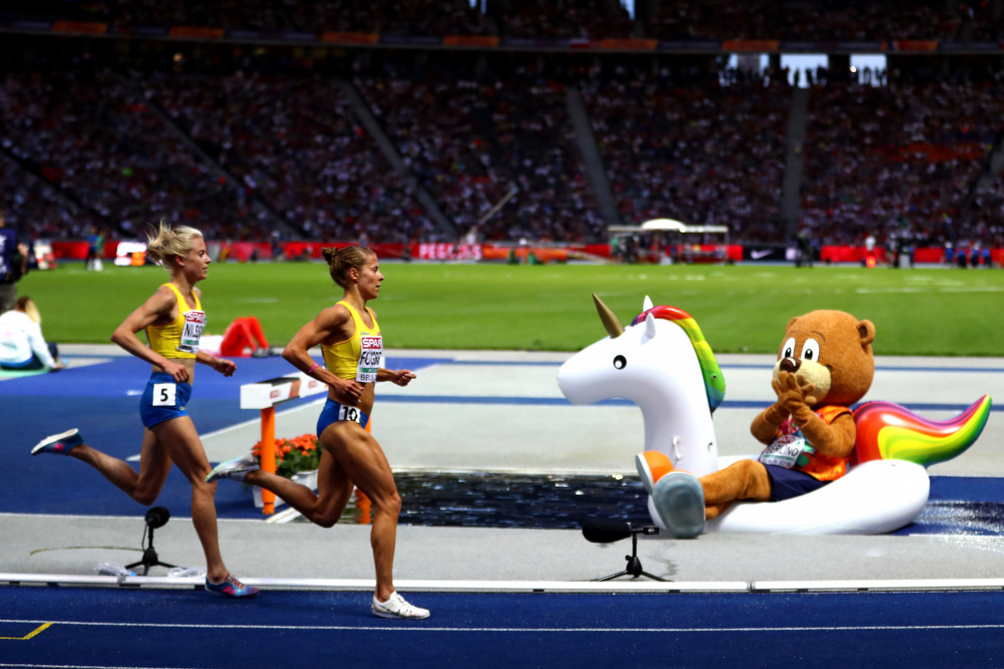 Berlin and Glasgow 2018 European Championships: Final day of competition