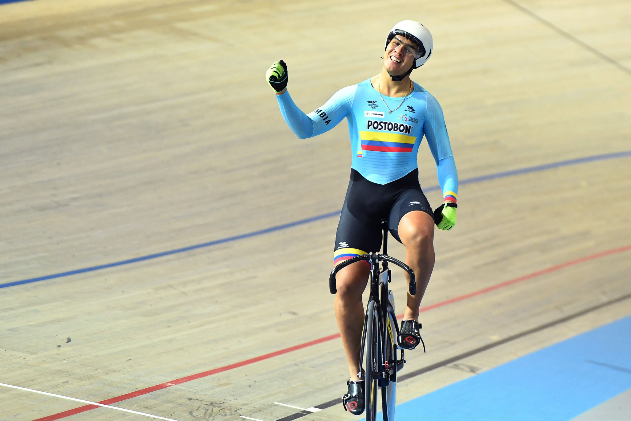 Colombian keirin world champion Puerta suspended by UCI after testing positive for banned steroid