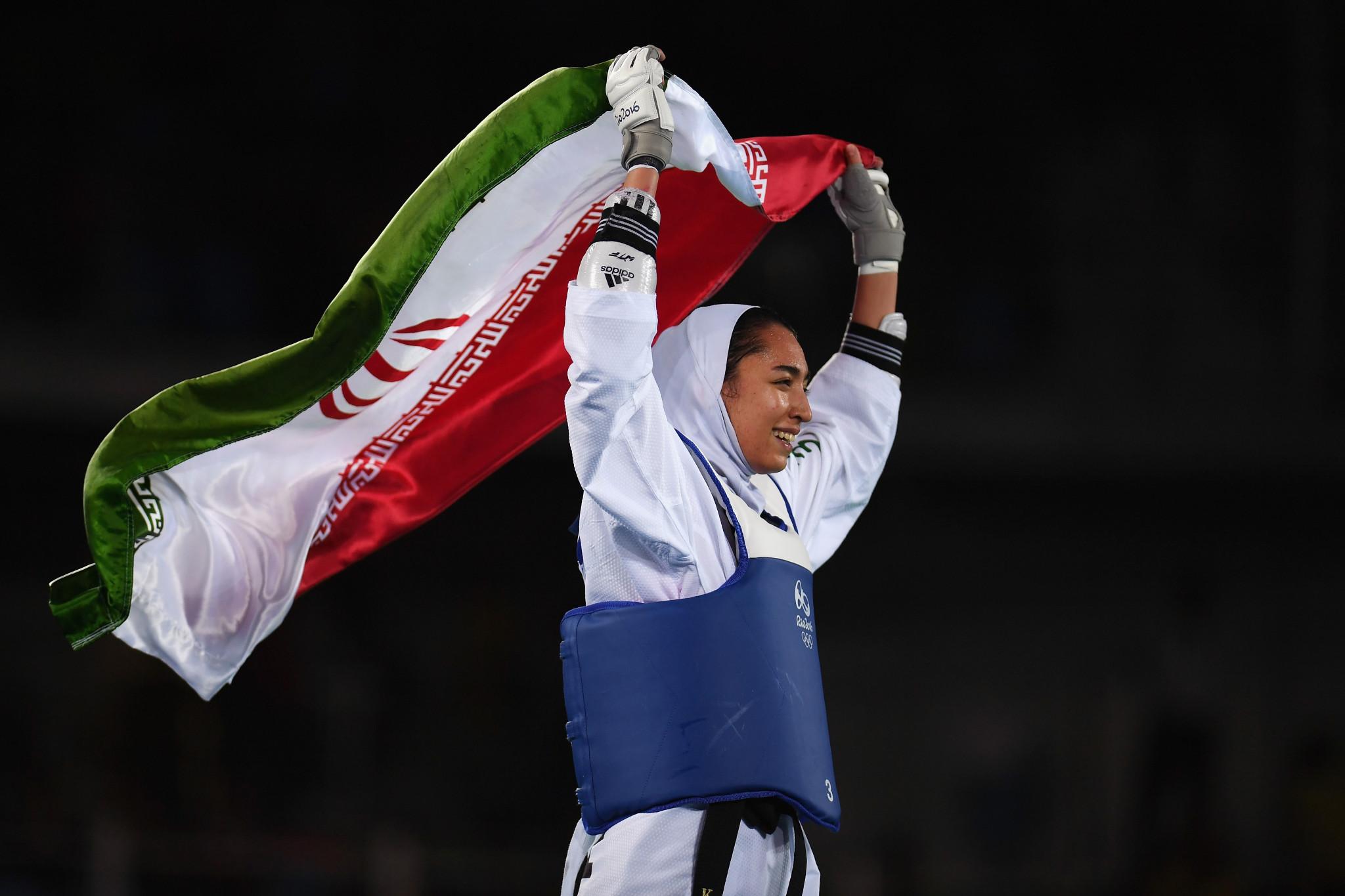 Iranian taekwondo player Kimia Alizadeh could be forced to retire from the sport after picking up an injury that ruled her out of competing at the 2018 Asian Games ©Getty Images