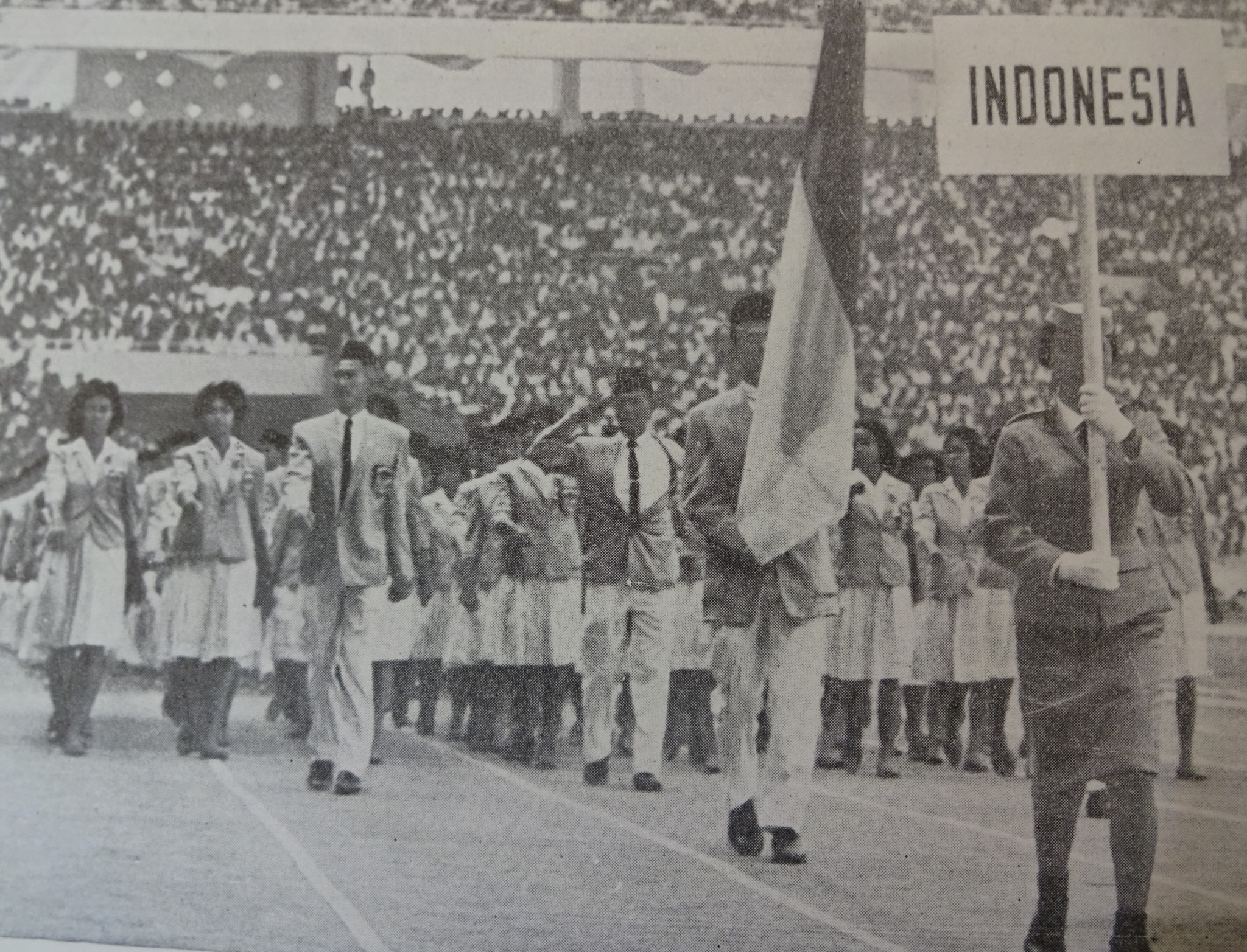 The biggest team at the 1962 Asian Games came from hosts Indonesia ©Official Report Jakarta 1962