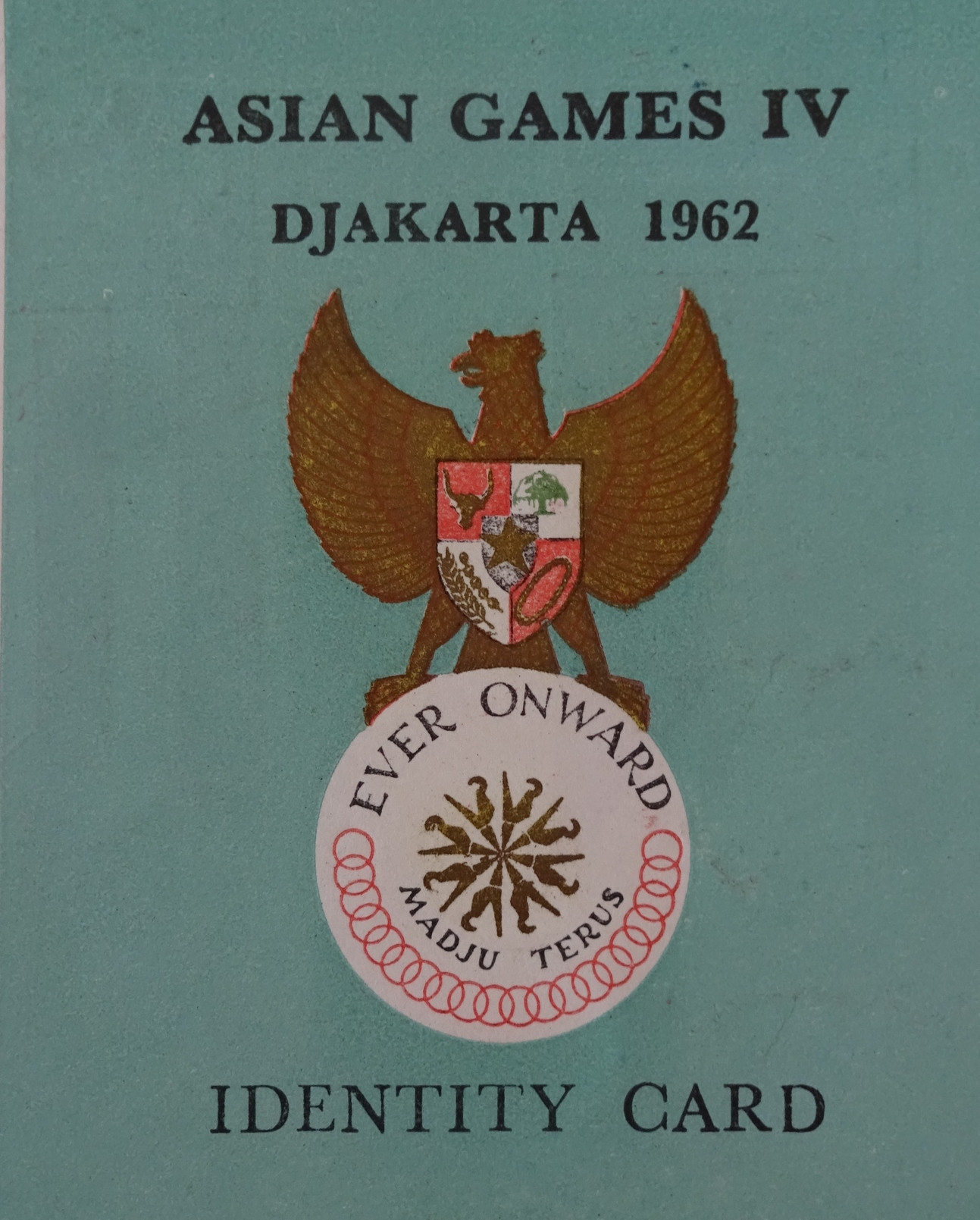 Athletes, officials and even journalists involved at the 1962 Asian Games in Jakarta were given life insurance by Indonesian organisers in a document signed by the country's Sports Minister ©Official Report Jakarta 1962