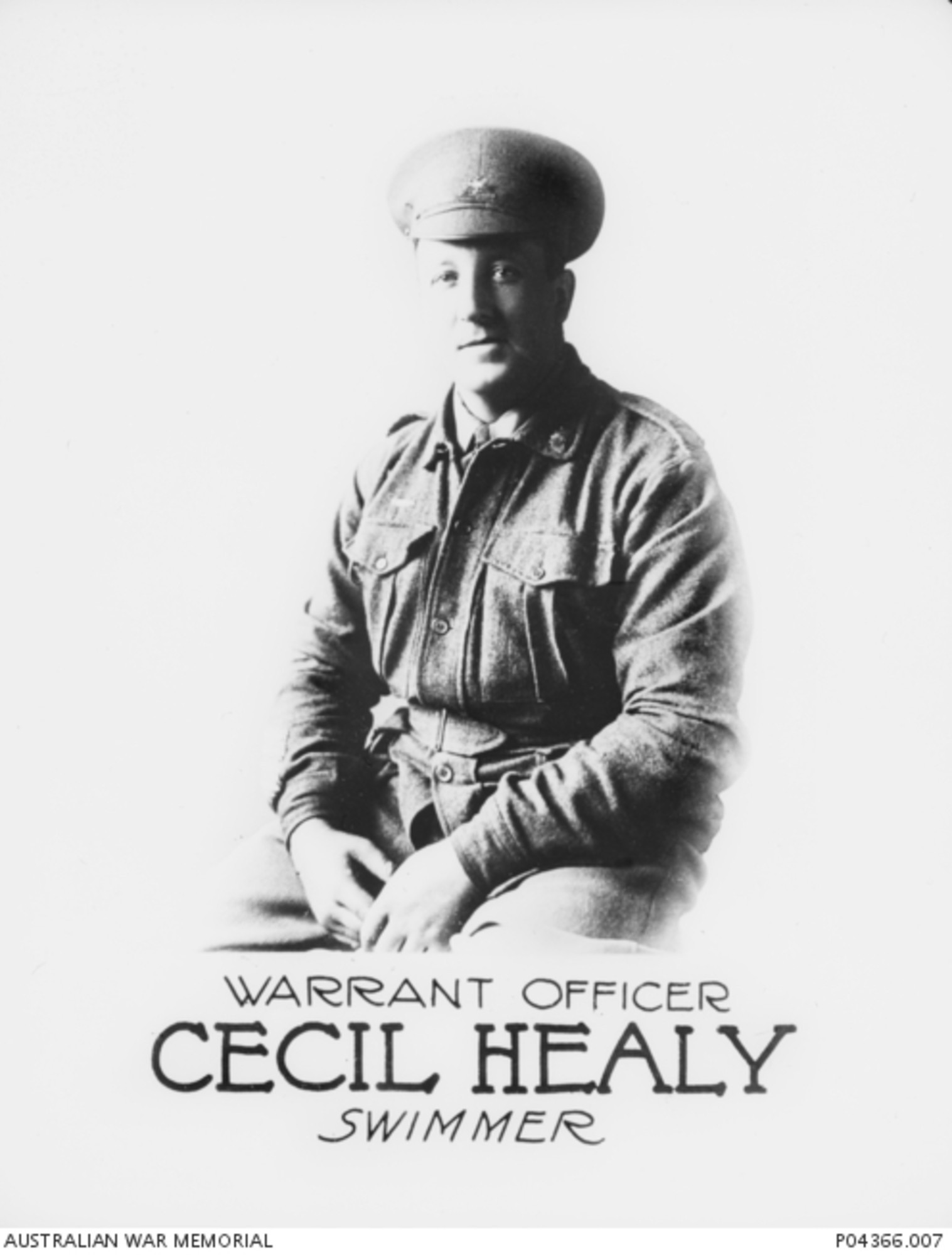 Australia's Cecil Healy, an Olympic gold medallist at Stockholm 1912, was killed shortly before the end of World War One ©Wikipedia