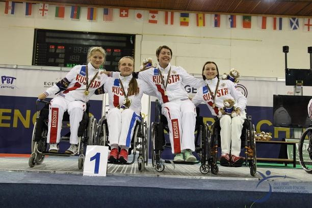 Russia and Ukraine end Wheelchair Fencing World Championships with team titles